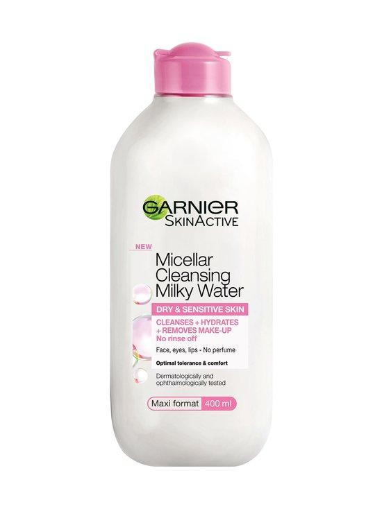 Garnier - Skin Active Micellar Milky -maitomainen puhdistusvesi kuivalle ja herkälle iholle 400 ml - NOCOL   Stockmann - photo 1