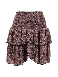 Neo Noir - Carin Flower Twirl Skirt -hame - 100 BLACK | Stockmann