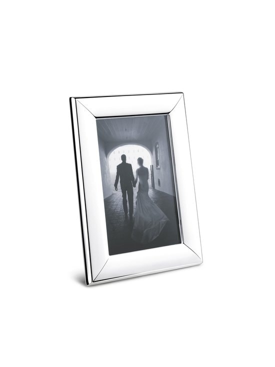 Georg Jensen - Modern Picture Frame Small -kehys 10 x 15 cm - STAINLESS STEEL | Stockmann - photo 1