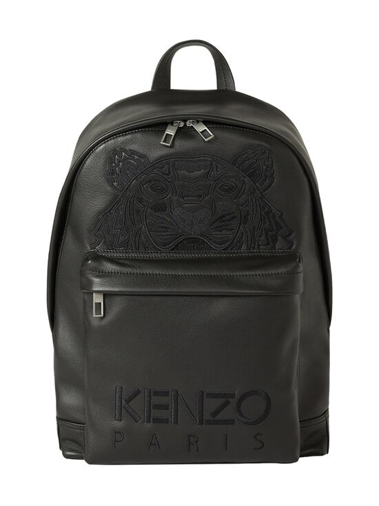 Kenzo - Kampus Tiger -nahkareppu - 99BLACK | Stockmann - photo 1