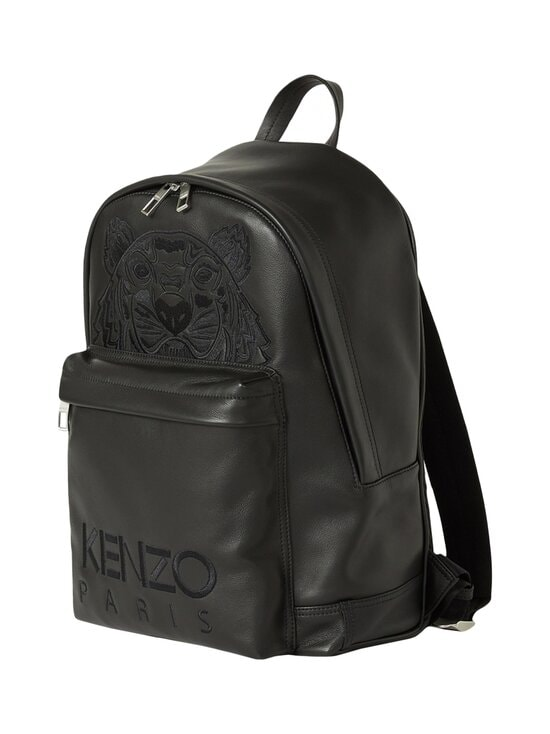 Kenzo - Kampus Tiger -nahkareppu - 99BLACK | Stockmann - photo 3