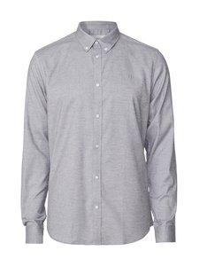 Les Deux - Harrison B.D. Brushed Shirt -kauluspaita - 310310-LIGHT GREY MELANGE | Stockmann