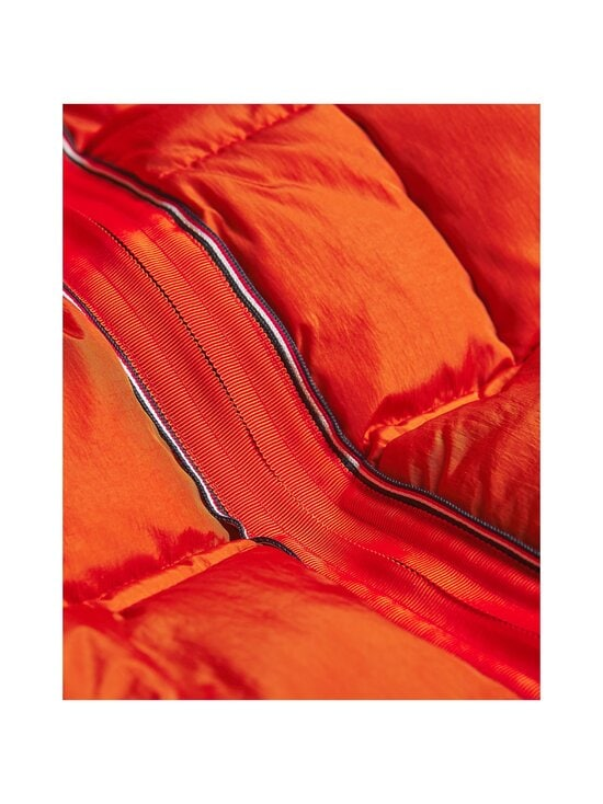 Tommy Hilfiger - Rope Dye Quilted Hooded Bomber -takki - SNC TUCSON ORANGE | Stockmann - photo 4