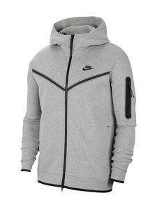 Nike - Tech Fleece -huppari - 063 DK GREY HEATHER/BLACK   Stockmann