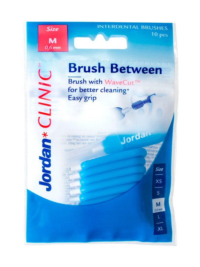 Clinic Brush Between M -hammasväliharja 10 kpl