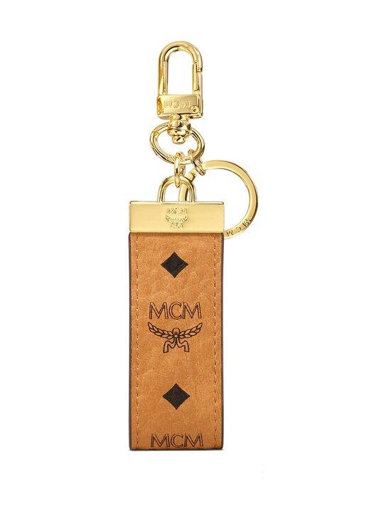 MCM - Key Ring in Visetos Original -avaimenperä - COGNAC | Stockmann - photo 1