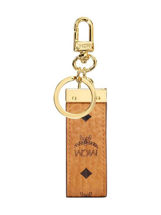 MCM - Key Ring in Visetos Original -avaimenperä - COGNAC | Stockmann - photo 2
