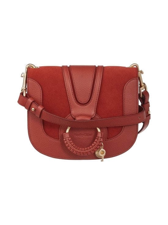 See By Chloe - Hana Shoulder Bag -nahkalaukku - FADED RED 644 | Stockmann - photo 1