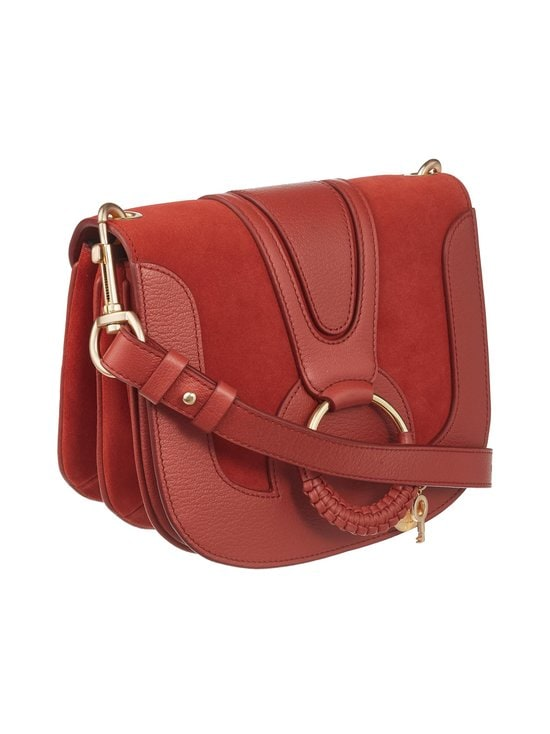 See By Chloe - Hana Shoulder Bag -nahkalaukku - FADED RED 644 | Stockmann - photo 2