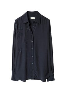 Zadig&Voltaire - Tamara Strass Shirt -pusero - ENCRE ENCR | Stockmann