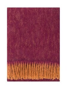 Lapuan Kankurit - Revontuli-villahuopa 130 x 170 cm - RUST/BORDEAUX | Stockmann