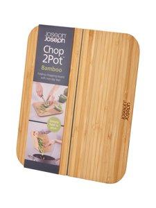 Joseph Joseph - Chop 2 Pot -bambuleikkuulauta - PUU | Stockmann