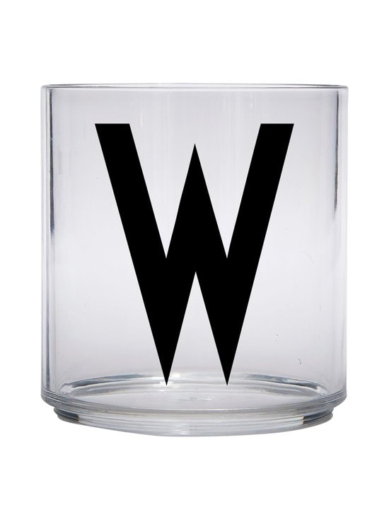 Design Letters - Kids Personal Drinking Glass -juomalasi, W - KIRKAS | Stockmann - photo 1