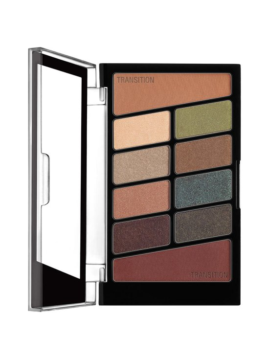 Color Icon 10 Pan Palette -luomiväripaletti