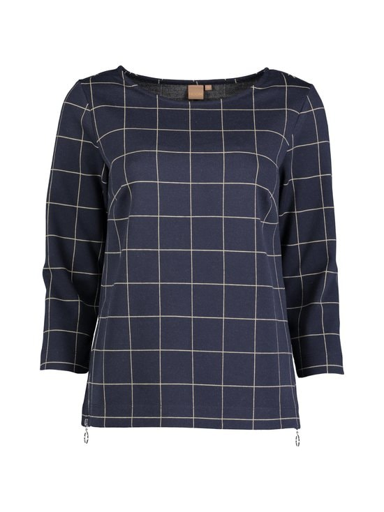 NOOM - Emma-pusero - DK.NAVY/BEIGE CHECK | Stockmann - photo 1