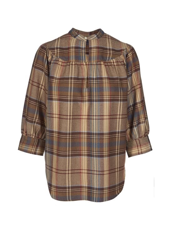 Polo Ralph Lauren - Plaid Keyhole Shirt -pusero - 3JM1 864 BRWN/B | Stockmann - photo 1