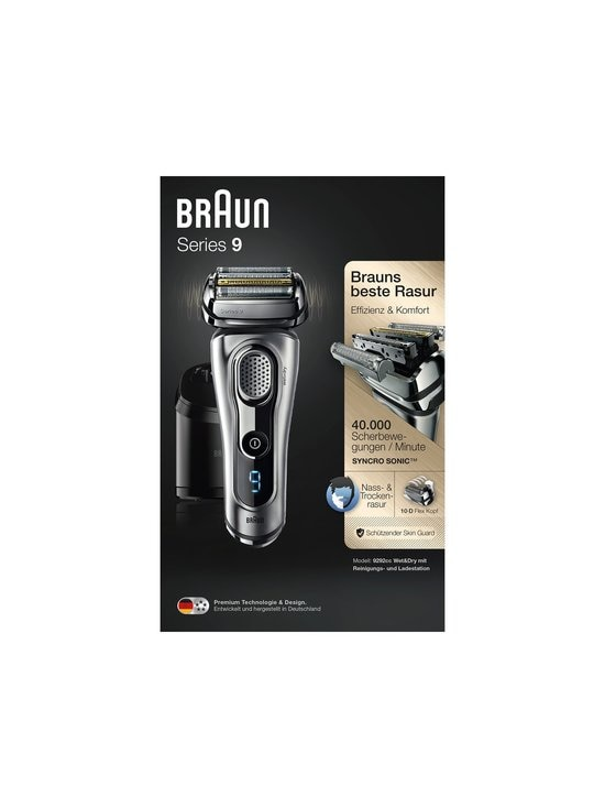 Braun - Series 9 9292cc Wet & Dry -parranajokone - SILVER | Stockmann - photo 2