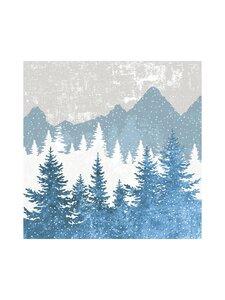 Paper+Design - Forest Silhoutte -servetti 24 cm - MULTI   Stockmann
