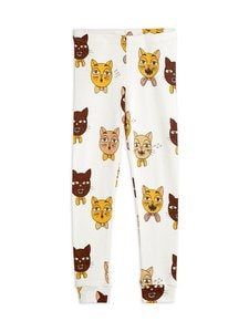 Mini Rodini - Cat Choir -leggingsit - OFFWHITE | Stockmann