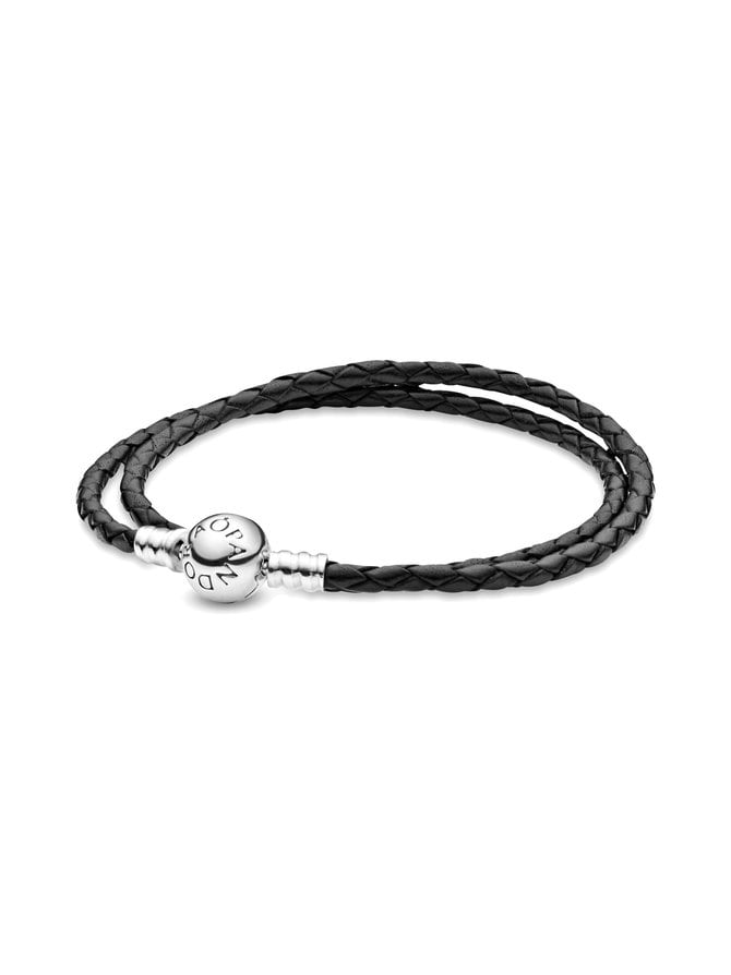 Silver Leather -rannekoru