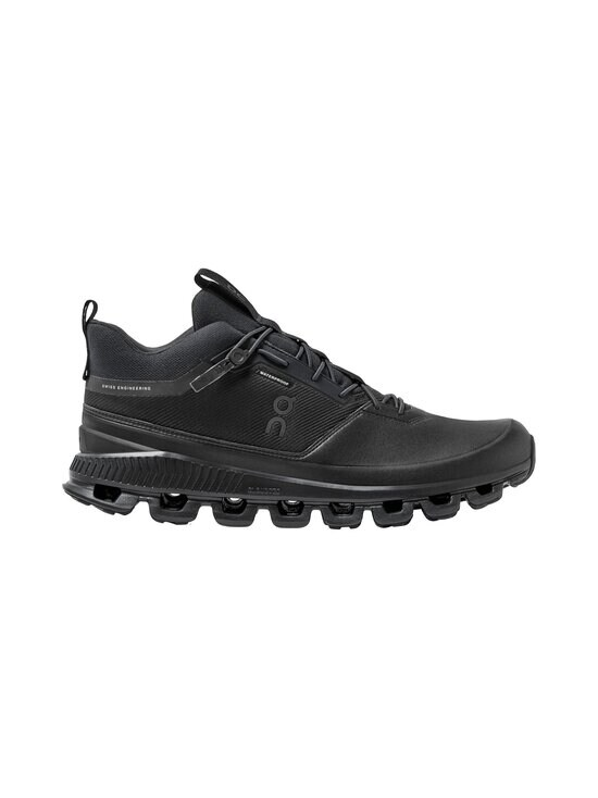 ON - M Cloud Hi Waterproof -sneakerit - ALL BLACK   Stockmann - photo 1