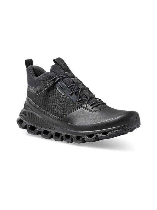 ON - M Cloud Hi Waterproof -sneakerit - ALL BLACK   Stockmann - photo 4