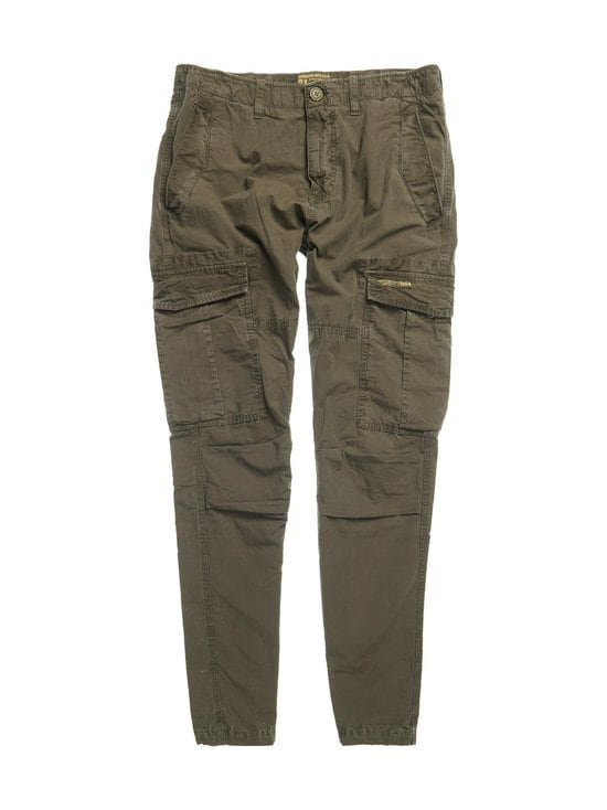 Superdry - Core Parachute Cargo Trousers -reisitaskuhousut - GQB DEEP FOREST | Stockmann - photo 1