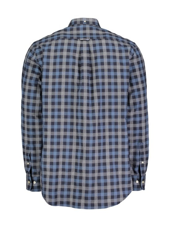 GANT - Tech Prep™ Oxford Heather Gingham -kauluspaita - MARINE | Stockmann - photo 2