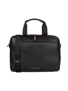 Tommy Hilfiger - Metro Slim Computer Bag -laukku - BDS BLACK | Stockmann