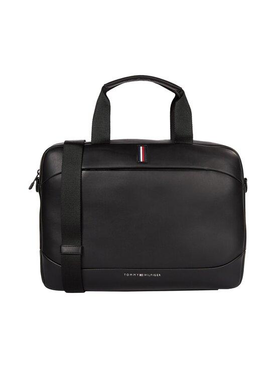 Tommy Hilfiger - Metro Slim Computer Bag -laukku - BDS BLACK | Stockmann - photo 1