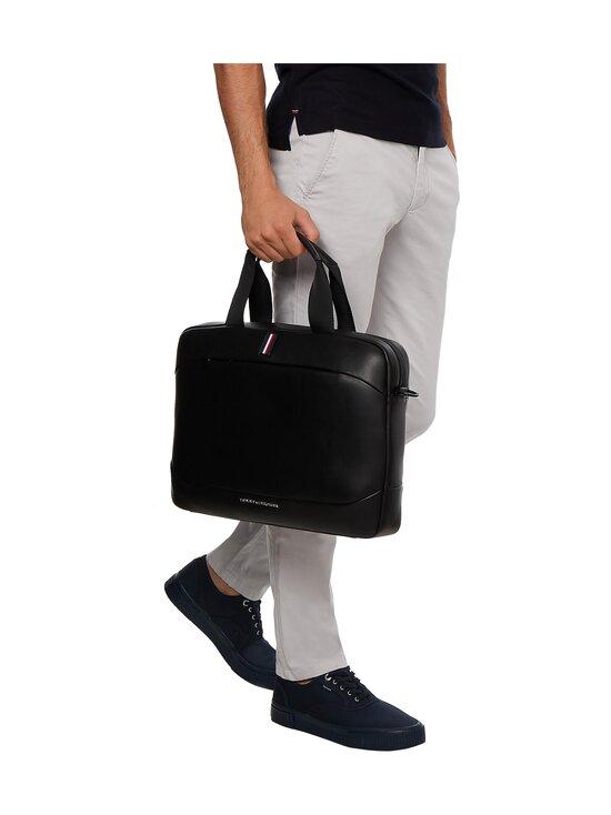 Tommy Hilfiger - Metro Slim Computer Bag -laukku - BDS BLACK | Stockmann - photo 4