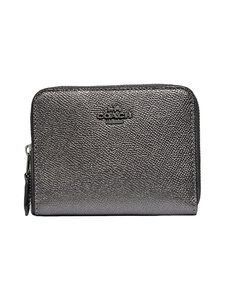 Coach Metallic Small Zip Around -nahkalompakko 94 69c3c1d9af