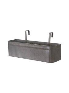 Wikholm Form - Amber Balcony Pot L -istutuslaatikko - GREY ZINC | Stockmann
