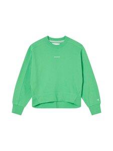 Calvin Klein Jeans - Micro Branding Sweatshirt -collegepaita - LYQ ACID GREEN | Stockmann