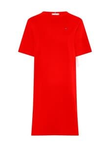 Tommy Hilfiger - GLB STP SHIFT SHORT DRESS -puuvillamekko - XLG PRIMARY RED   Stockmann