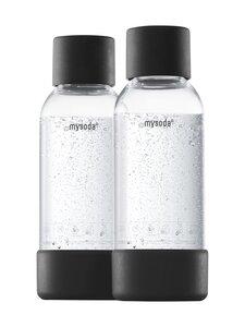 MySoda - Juomapullo 0,5 l, 2 kpl - BLACK | Stockmann
