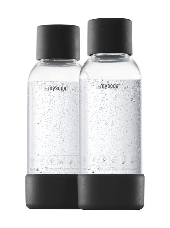 MySoda - Juomapullo 0,5 l, 2 kpl - BLACK   Stockmann - photo 1