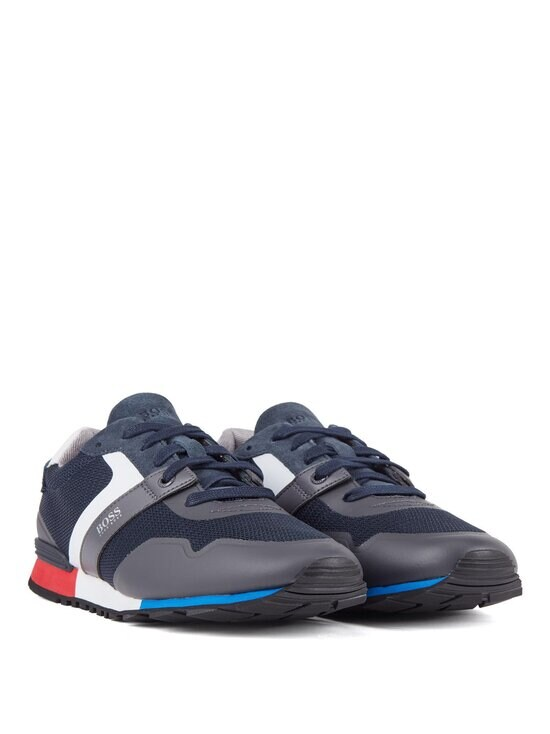 BOSS - Parkour_Runn_meth-sneakerit - 402 DARK BLUE   Stockmann - photo 4