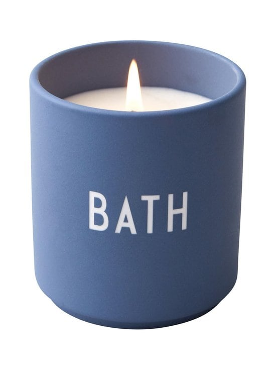 Design Letters - Scented Candle Large -tuoksukynttilä - BLUE | Stockmann - photo 1