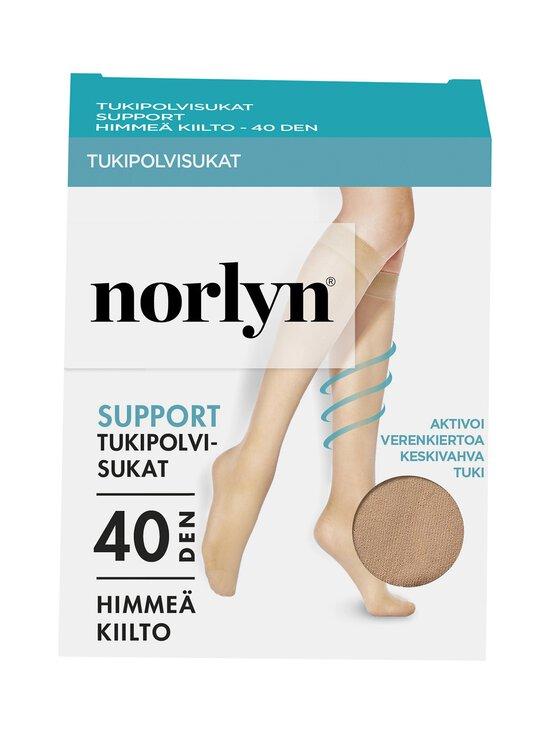 Norlyn - Support 40 den -tukipolvisukat - IVORY | Stockmann - photo 1