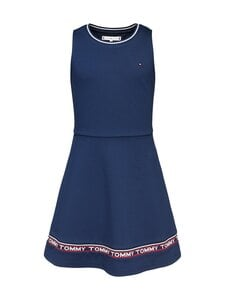 Tommy Hilfiger - Punto Milano Skater Dress -mekko - C87 TWILIGHT NAVY | Stockmann