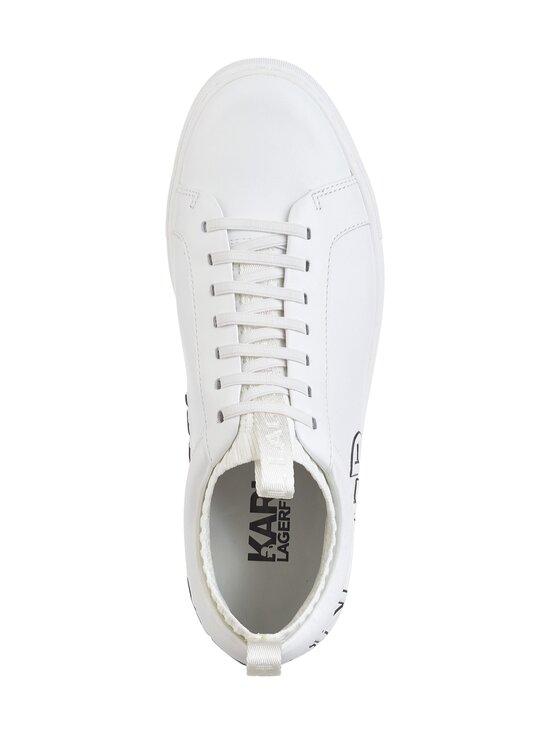 Karl Lagerfeld - Kupsole Trace Logo -nahkasneakerit - WHITE 011 | Stockmann - photo 2