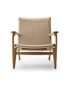 Carl Hansen&Son - CH25-nojatuoli - NATURAL PAPERCORD/OILED OAK | Stockmann