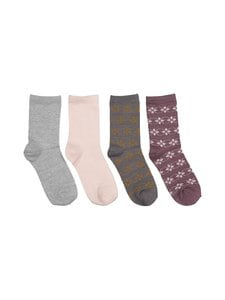 Name It - NkfWak Wool -sukat 4-pack - FLINT | Stockmann