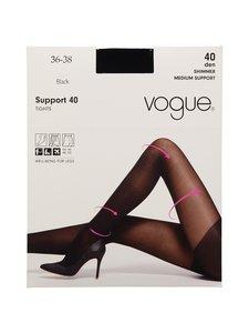 Vogue - Support 40 den -sukkahousut - BLACK   Stockmann