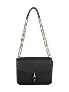 kate spade new york - Locket Large Flap Shoulder Bag -nahkalaukku - 001 BLACK | Stockmann