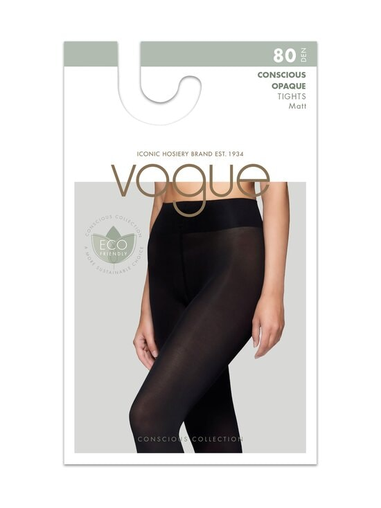 Vogue - Conscious Opaque 80 den -sukkahousut - 1210 BLACK | Stockmann - photo 1