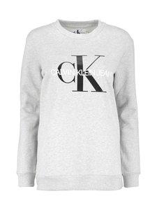 Calvin Klein Jeans - Core Monogram Logo -collegepaita - LIGHT GREY HEATHER (HARMAA) | Stockmann