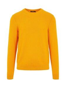 J.Lindeberg - Andy Structure C-Neck Sweater -puuvillaneule - I120 GOLDEN ORANGE   Stockmann