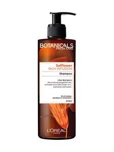 BOTANICALS - Argan & Safflower -ravitseva shampoo kuiville hiuksille 400 ml | Stockmann